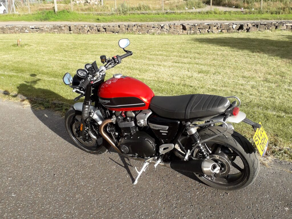 Triumph Speed Twin 1200 Highland Motorcycle Hire